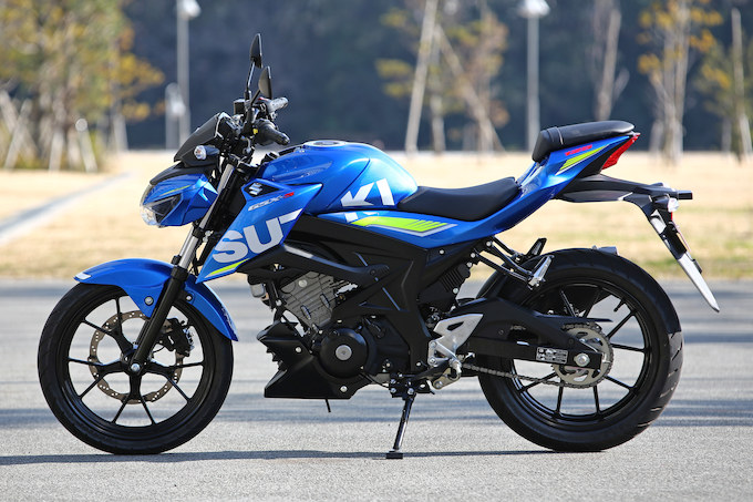 GSX-S125 ABSの試乗インプレッション