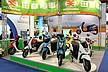 スクーター型EVだけでなく、電動アシスト自転車も扱っているメーカーもありました。必要な技術や車体構成がほぼ共通ということなのでしょう。