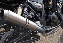 マフラーは定評あるNITRO RACING製を装着している。