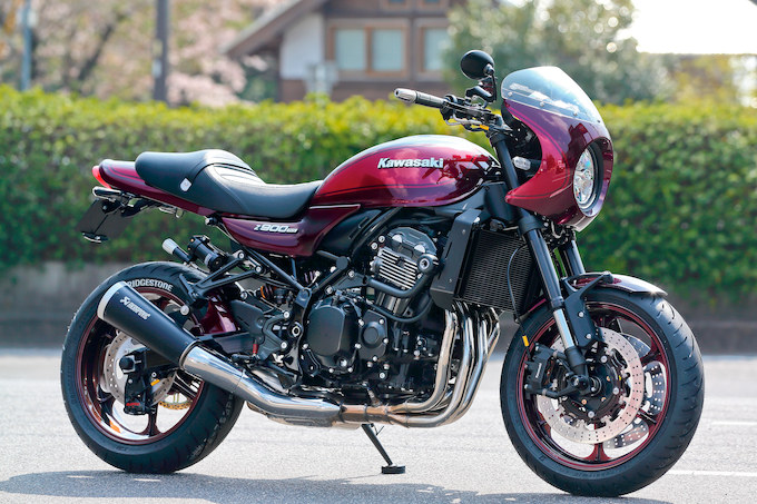 ACTIVE Z900RS(カワサキ Z900RS)のカスタム画像