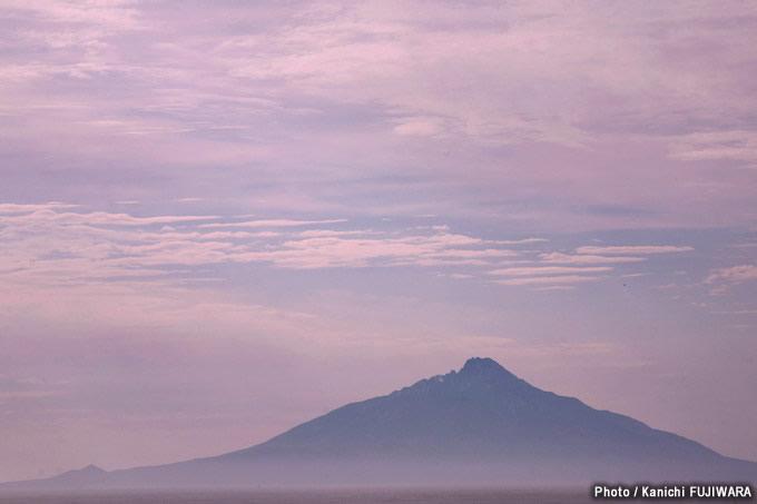 日本の絶景100選 利尻富士(北海道)の画像