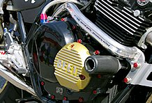 ドレスアップ目的だったカスタムが、アクティブ製サブフレームやスライダーの追加で一気にレーシーに生まれ変わった。
