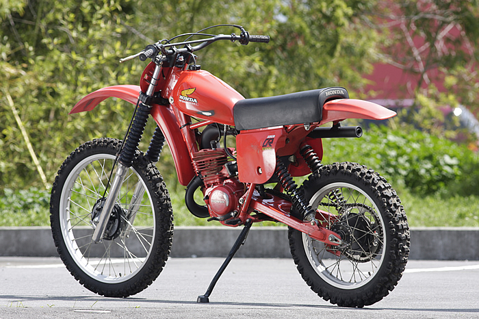 HONDA CR125R ELSINORE 1979